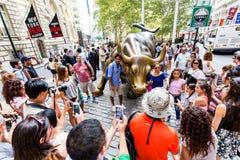 NUEVA YORK - 24 DE AGOSTO DE 2015 Imagen de archivo libre de regalías