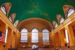 NUEVA YORK - 26 DE AGOSTO DE 2018: Terminal de ferrocarril terminal de Grand Central en la 42.a calle y Park Avenue en Midtown Ma fotografía de archivo libre de regalías