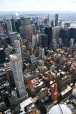Nueva York de arriba Fotografía de archivo libre de regalías