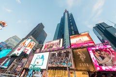 Nueva York - 22 de diciembre de 2013: Times Square el 22 de diciembre en los E.E.U.U. Fotografía de archivo libre de regalías