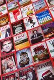 Nueva York - 7 de marzo de 2017: Revista Time el 7 de marzo en Nueva York, Foto de archivo libre de regalías