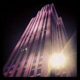 Nueva York de Rockefeller Imagenes de archivo