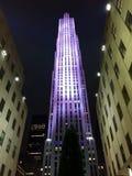 Nueva York de Rockefeller Imagen de archivo libre de regalías