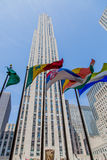 Nueva York de Rockefeller Fotos de archivo libres de regalías