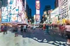 Nueva York - 5 de septiembre de 2010: Times Square el 5 de septiembre en nuevo Imágenes de archivo libres de regalías