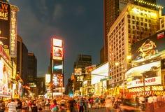 Nueva York - 5 de septiembre de 2010: Times Square el 5 de septiembre en nuevo Fotos de archivo