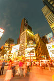 Nueva York - 5 de septiembre de 2010: Times Square el 5 de septiembre en nuevo Imagen de archivo libre de regalías