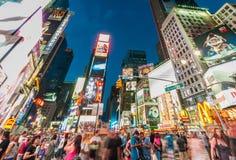 Nueva York - 5 de septiembre de 2010: Times Square el 5 de septiembre en nuevo Imagen de archivo