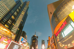 Nueva York - 5 de septiembre de 2010: Times Square el 5 de septiembre en nuevo Foto de archivo