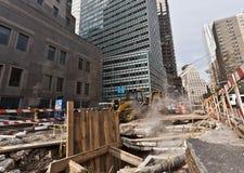 Nueva York después de Sandy Superstorm Fotos de archivo