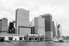 Nueva York en blanco negro de n imagenes de archivo