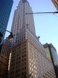 Nueva York en rascacielos gigantes Imágenes de archivo libres de regalías
