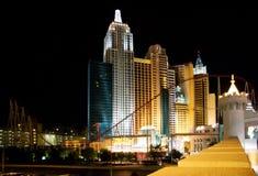 Nueva York en Vegas Fotos de archivo libres de regalías