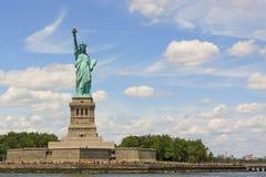 Nueva York, estatua de la libertad Fotografía de archivo