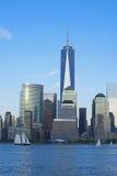 Nueva York Freedom Tower Imágenes de archivo libres de regalías
