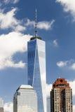 NUEVA YORK - Freedom Tower en Lower Manhattan Fotografía de archivo