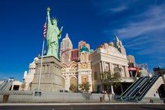 NUEVA YORK - HOTEL DE NUEVA YORK LAS VEGAS Fotos de archivo