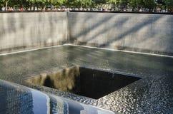 NUEVA YORK - los E.E.U.U. 12 de septiembre de 2016 un memoria del World Trade Center Imagen de archivo libre de regalías