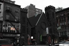 NUEVA YORK, los E.E.U.U. - 31 de agosto de 2018: New York City Manhattan imagenes de archivo
