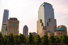 Nueva York, los E.E.U.U. - 2 de septiembre de 2018: Calle de New York City Manhattan en el Midtown en el día soleado imagen de archivo libre de regalías
