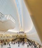 Nueva York, los E.E.U.U. - octubre de 2017: El Oculus en el World Trade Center T Fotografía de archivo libre de regalías