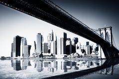 Nueva York Manhattan Foto de archivo libre de regalías