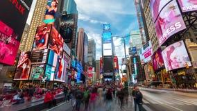 NUEVA YORK - MAYO DE 2018: Lapso de tiempo del Times Square - Nueva York 4K, UHD, ultra resolución de HD metrajes