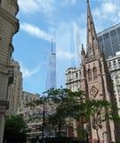 Nueva York nueva y vieja Imagen de archivo