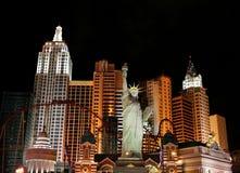 Nueva York Nueva York de Las Vegas fotografía de archivo libre de regalías