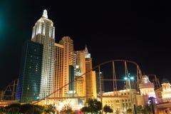 Nueva York Nueva York, Las Vegas Imagenes de archivo