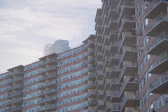 Nueva York por Gehry foto de archivo libre de regalías