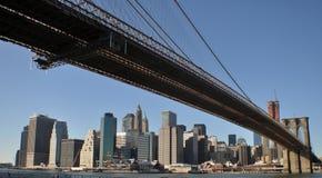 Nueva York que visita puntos de interés Imagen de archivo libre de regalías