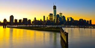 Nueva York Skylinet, los E.E.U.U. Fotografía de archivo