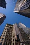 Nueva York Wall Street Imágenes de archivo libres de regalías