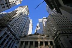 Nueva York - Wall Street clásicos Imagenes de archivo