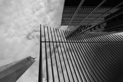 Nueva York World Trade Center edificio del 11 de septiembre fotografía de archivo libre de regalías