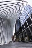 Nueva York World Trade Center estación del 11 de septiembre fotografía de archivo libre de regalías