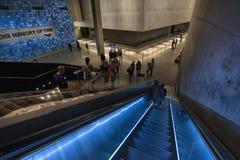 Nueva York World Trade Center museo del 11 de septiembre imagen de archivo