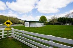 Nueva Zelanda rural Foto de archivo libre de regalías