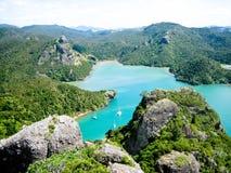 Nuevas aguas de Zeland Imagen de archivo libre de regalías