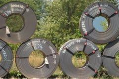 Nuevas bobinas   Foto de archivo