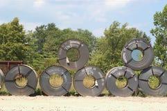 Nuevas bobinas   Fotografía de archivo