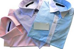 Nuevas camisas para los hombres. Foto de archivo libre de regalías