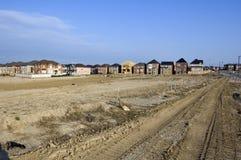 Nuevas casas Foto de archivo libre de regalías