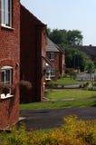 Nuevas casas Imagenes de archivo