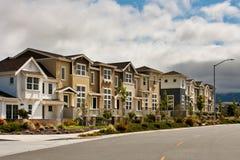Nuevas casas urbanas Imagen de archivo