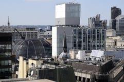 Nuevas construcciones en Londres Reino Unido Europa Imágenes de archivo libres de regalías