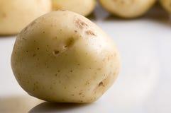 Nuevas patatas Imagenes de archivo