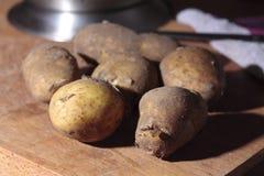 Nuevas patatas Fotos de archivo