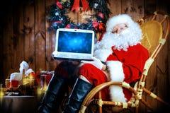 Nuevas tecnologías de Navidad Fotografía de archivo